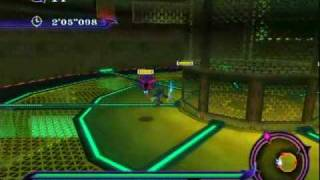 Sonic Unleashed (Wii) - EggmanLand Night Stage 1: Infiltration