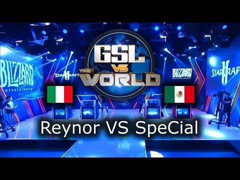 Reynor VS SpeCial - GSL vs the World 2019 - polski komentarz
