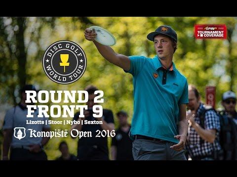 2016 Konopiste Open: Round 2, Front 9 (Lizotte, Stoor, Nybo, Sexton)