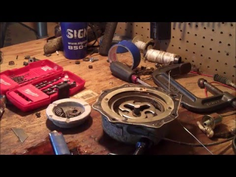 How to repair a pull start