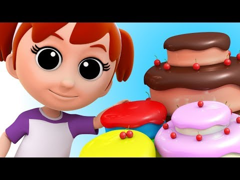 Pat A Cake | Nursery Rhymes Songs For Kids And Toddlers | Baby Songs | Luke & Lily