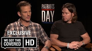 Exclusive Interview: Mark Wahlberg And Peter Berg Talk Patriots Day [HD]