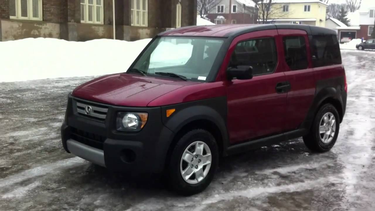 for sale 2008 honda element lx tango red youtube. Black Bedroom Furniture Sets. Home Design Ideas
