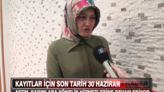 ASEM Kadınlara Yönelik Hizmetlerine Devam Ediyor