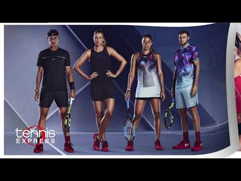 Nike Tennis US Open Apparel & Footwear Commercial At Tennis Express August 2017 (:15)