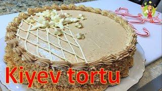 🔵 Kiyev tortunun hazırlanması   Kiev tortu   şokoladlı tort