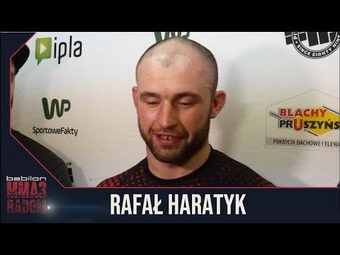 Rafał Haratyk po Babilon MMA 3 o Dricusie Du Plessis i nieudanych próbach znokautowania rywala