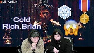 ENG [LIT Action] Rich Brian - Cold  (Asian Reaction){korean guys}