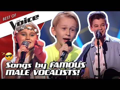 TOP 10 | The Most ICONIC MALE SINGERS In The Voice Kids! 🤴✨