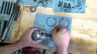 Classic Mini DIY - Piston Ring Install