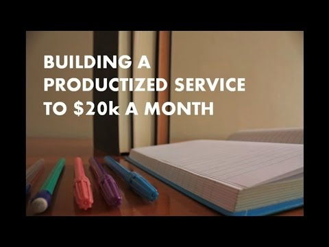 From a $1 Million Bankruptcy to $20k in Monthly Recurring Revenue - Productized Service Case Study