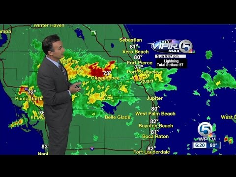 South Florida weather 6/18/17 - 6pm report