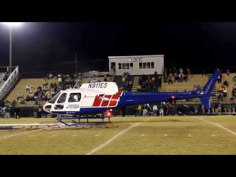 Wetumpka Indians Senior Football Game Ball Arrives Thanks To Haynes Life Flight