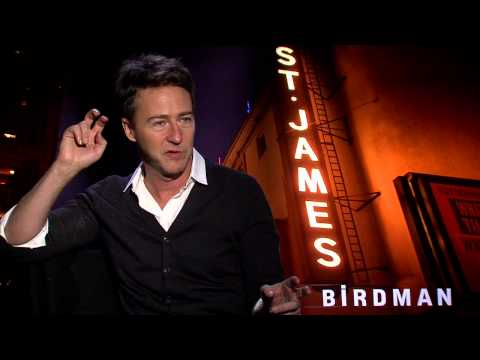 BIRDMAN interview with Edward Norton - Fight Club, American History X