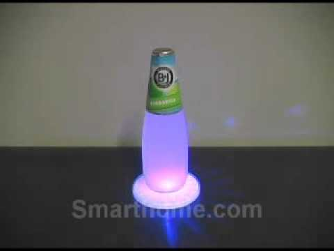 Sylvania Battery Powered LED Color Changing Coasters