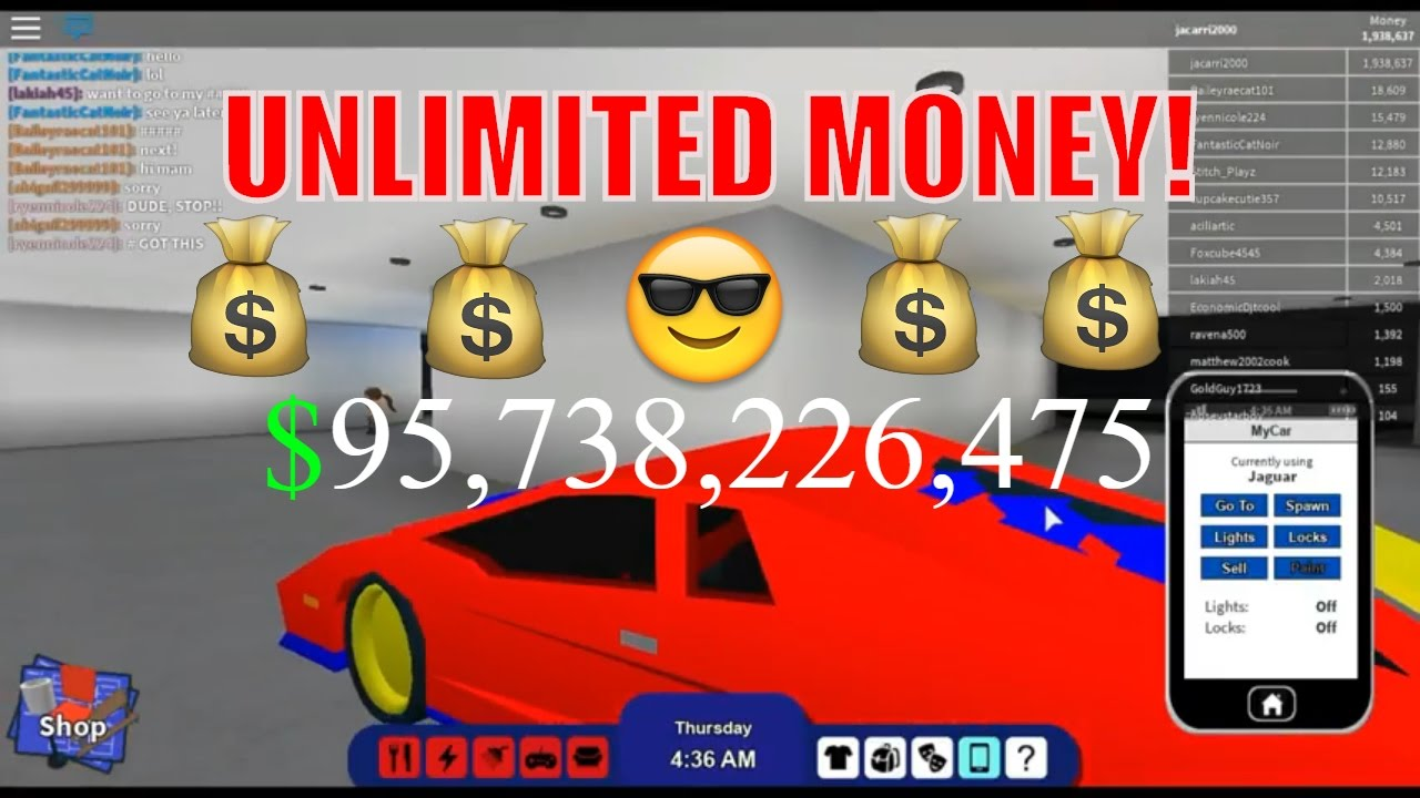 Roblox Rocitizens Crazy Money Glitch Hack Patched February 2017