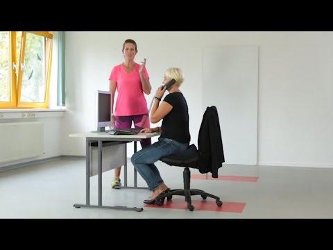 Fit Im Buro Gymnastik Ubungen Am Arbeitsplatz Ohne