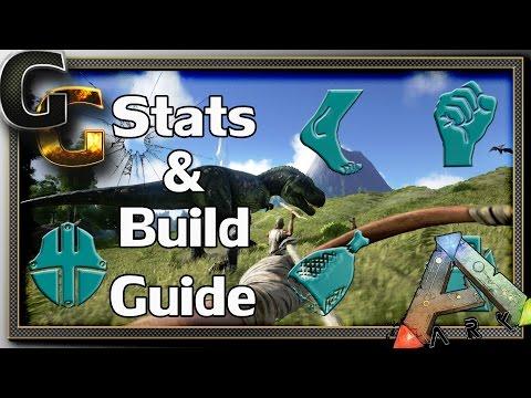 ARK: Survival Evolved Guides - Part 1: Stats & Build (No respec?)
