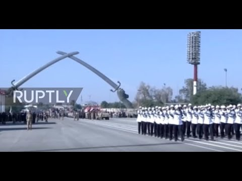 Iraq: Military parade held to celebrate victory over Islamic State