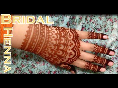fancy lace glove bridal henna inspired design youtube. Black Bedroom Furniture Sets. Home Design Ideas