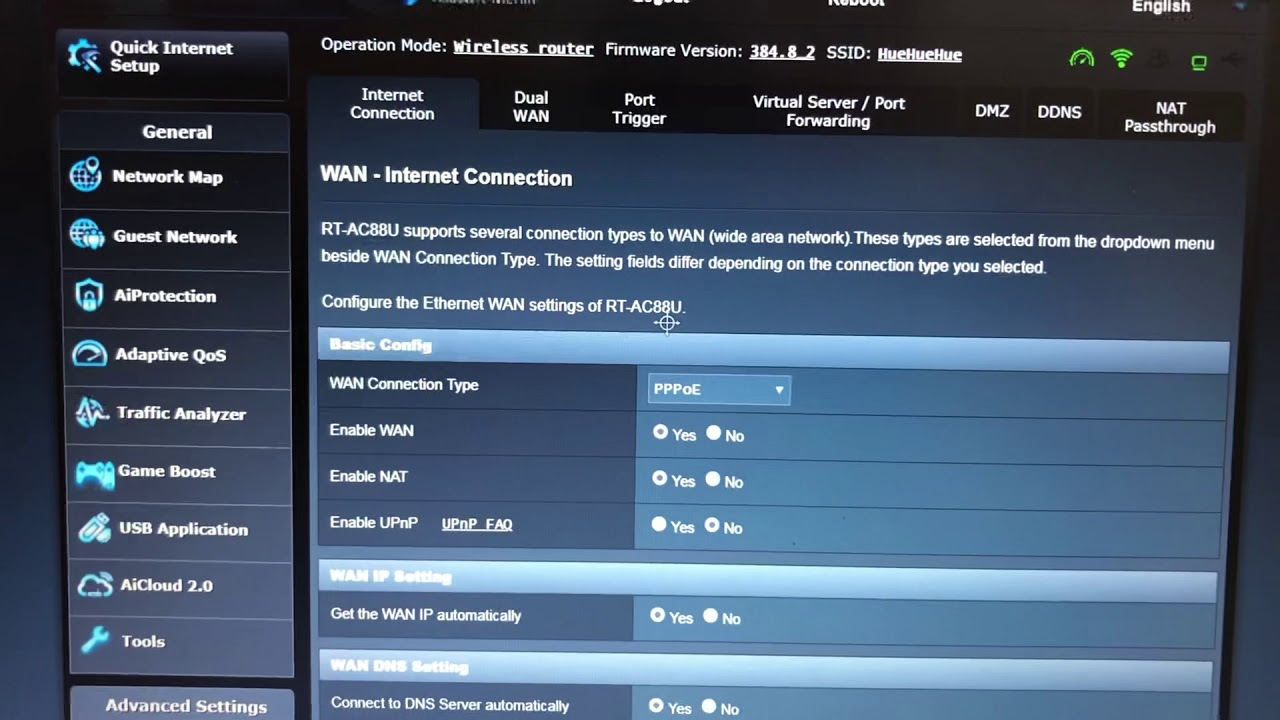 iiNet HFC & Asus router: ISP's DHCP Is not functioning properly FIX