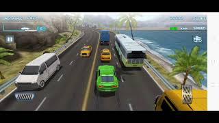 Turbo Driving Racing 3D-Car Games Android Gameplay HD Gadi Wala Game, Green Car Coastal{Two-Way}S150 screenshot 4