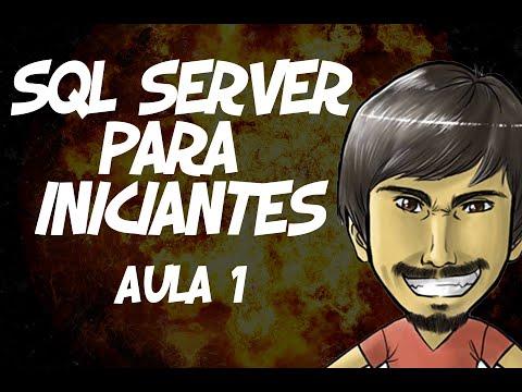 Curso de SQL Server para Iniciantes (Aula 1) - Por que usar um banco de dados