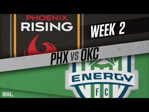 Phoenix Rising FC vs OKC Energy FC: March 24, 2018
