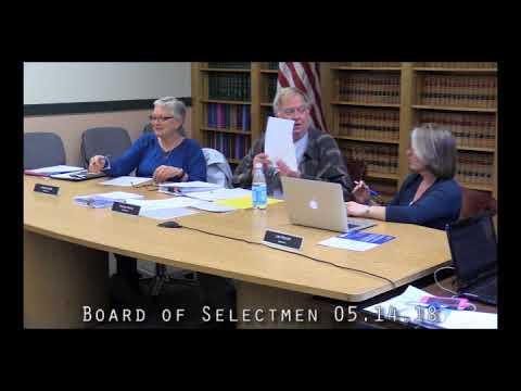 Board of Selectmen 05.14.18