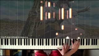 「DanMachi」ep6 ED - REALIZE ~始まりのとき~ (piano solo) // Maaya Uchida