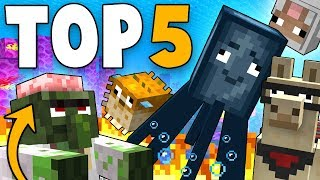 top 5 most funny minecraft animation