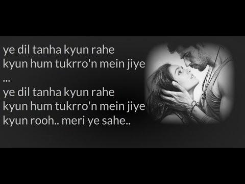 """""""Zaroorat"""" - Lyrics - Ek Villain (2014) - Mustafa Zahid"""