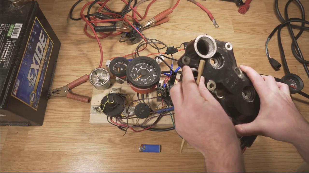 Outboard Motor Control Wiring Part 3 - Overheat Warning Sensor / Temp  Sensor Wiring