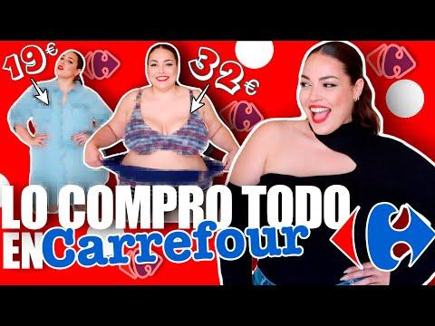 Ropa de supermercado CARREFOUR TALLAS GRANDES | Pretty and Olé