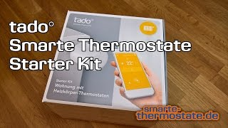 tado° Smarte Thermostate Starter Kit