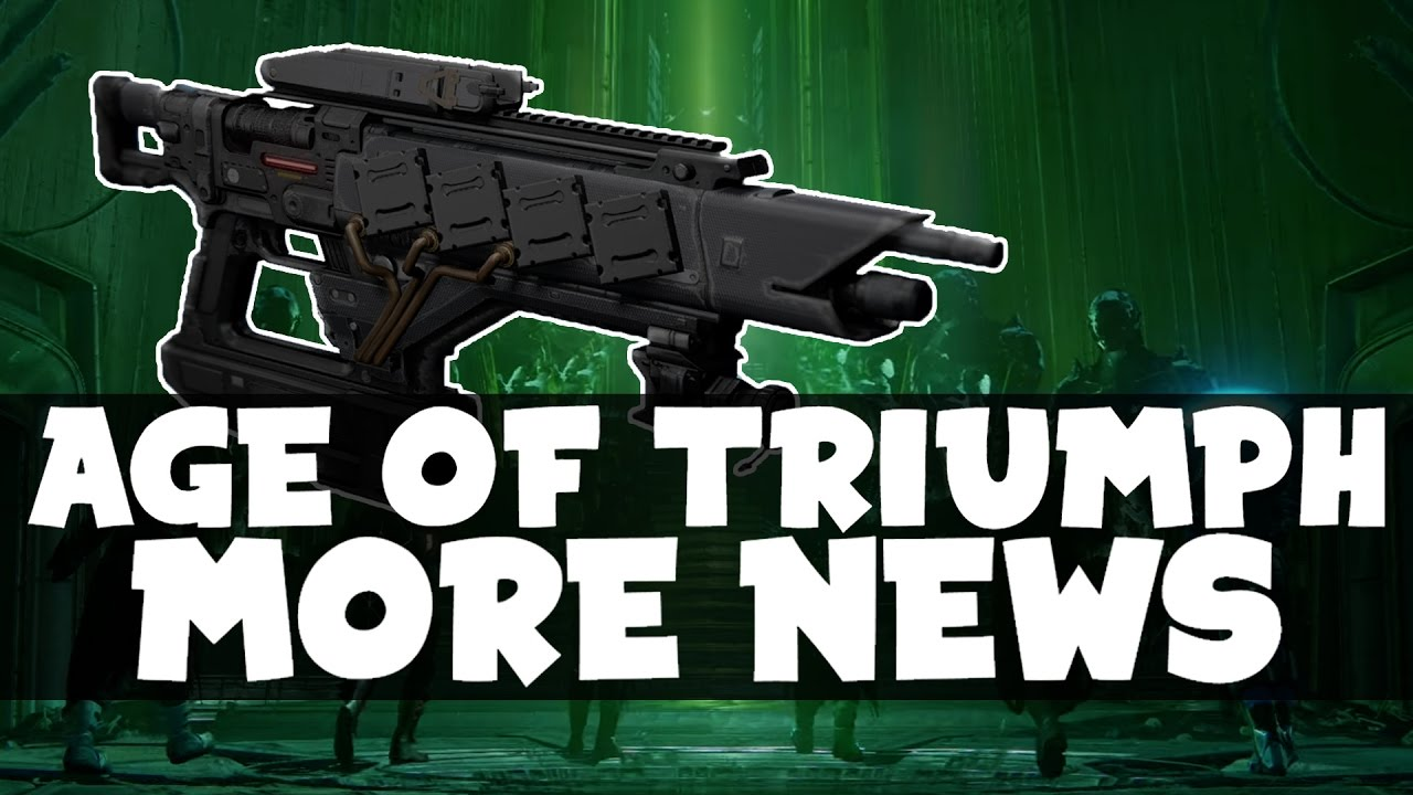 destiny - age of triumph ghost shells! adept weapons + necrochasm