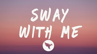 Gambar cover Saweetie & GALXARA - Sway With Me (Lyrics)