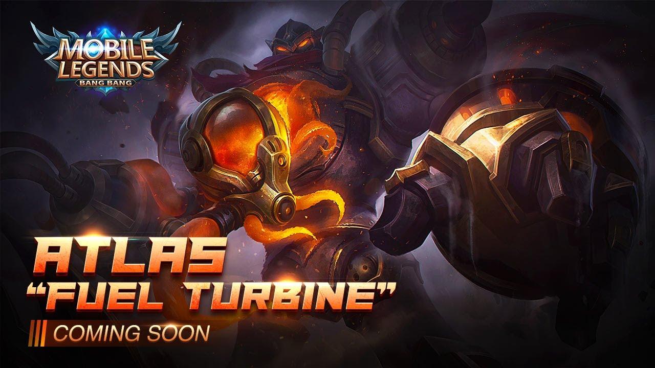 ATLAS New Skin | FUEL TURBINE | Mobile Legends: Bang Bang thumbnail