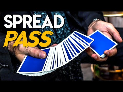 The SPREAD PASS Tutorial - (The BEST Card Magic Control)