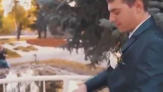 Очень короткий свадебный клип! ПРИКОЛ смотреть всем