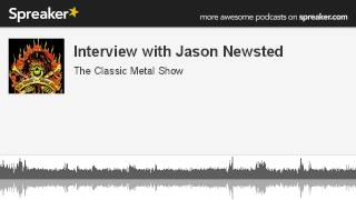 Interview with Jason Newsted (made with Spreaker)