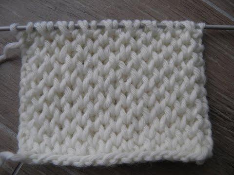 Honeycomb Brioche Knitting Stitch Patterns Nid D 39 Abeille