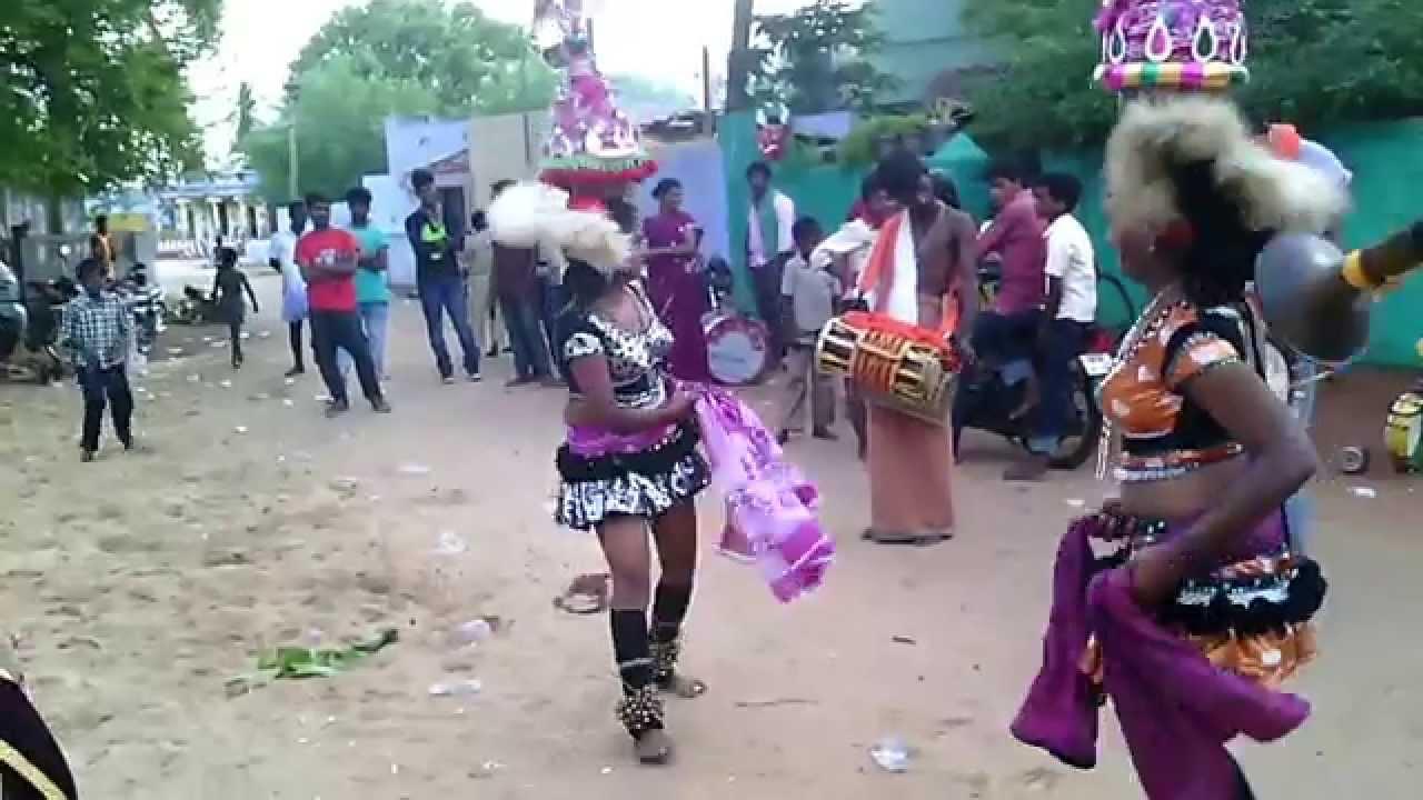 Karagattam Villaga Hot Dance Tamil Village Karakattam In -9998