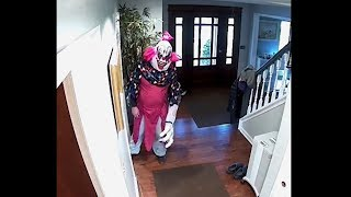 giant scary clown breaks into our house... (HELP) These are the sca...