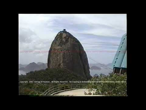 Rio De Janeiro  Cable Car To Top Of Sugarloaf Mtn And Views