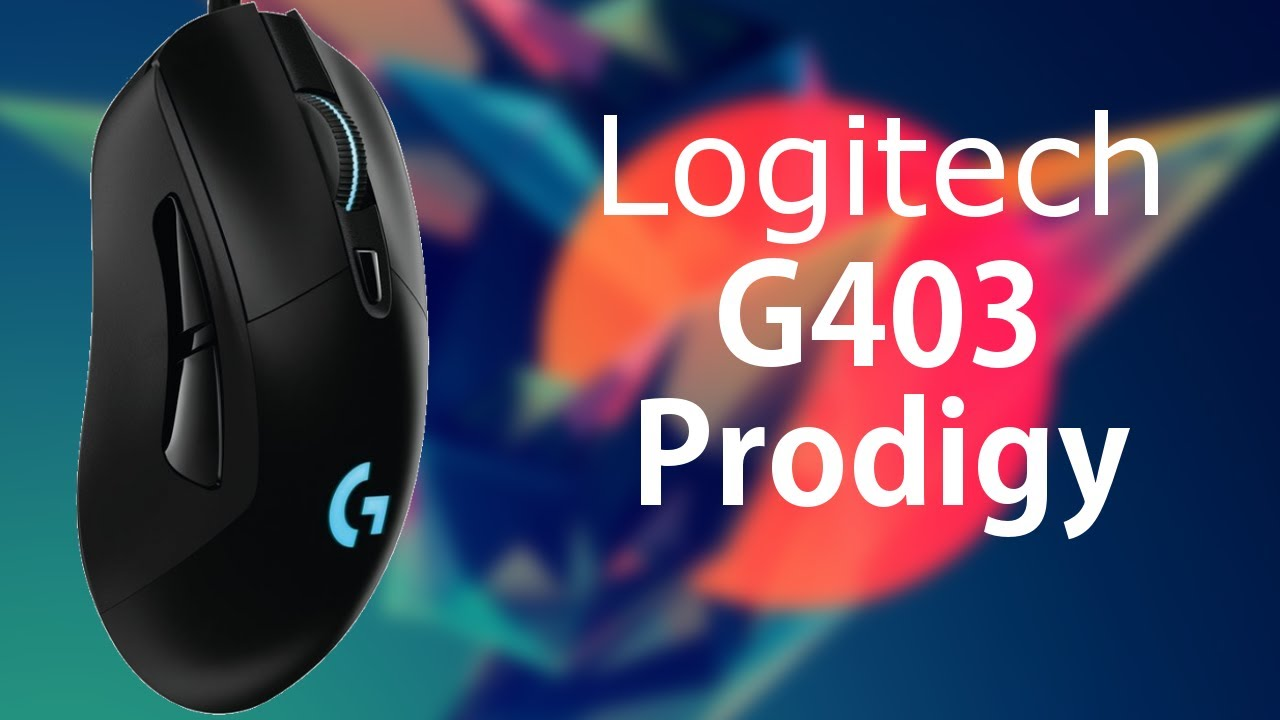 fd02dd40f10 MA NOUVELLE SOURIS GAMER : Review Logitech G403 Prodigy - YouTube