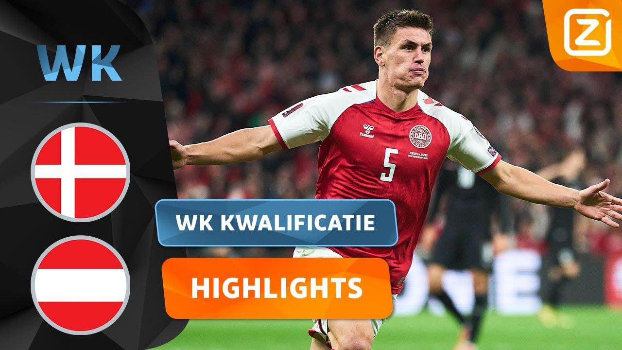 ERG SLIM AFGEMAAKT! 🧠⚽️   Denemarken vs Oostenrijk   Kwalificatie WK 2022   Samenvatting