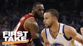 Stephen A. And Max Make NBA Finals Predictions | First Take | May 29, 2017