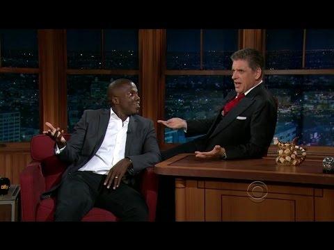Late Late Show with Craig Ferguson 5/2/2012 Anjelica Huston, Reno Wilson