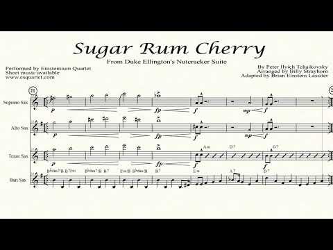 Sugar Rum Cherry for sax quartet, Einsteinium Quartet